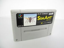 Super Famicom SIMANT sim ant Nintendo Cartridge Only Japan sfc