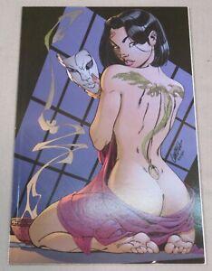 KABUKI #1 b (J. Scott Campbell Virgin Variant Cover) VF shape Image Comics 1998