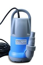 Clean Water Sump Pump 0.5hp with built in Auto. ON/OFF (no float switch) 1800GPH