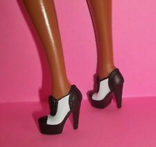 SEXY SINATRA BARBIE PLATFORM SHOES BOOTS MODEL MUSE FIERCE GANGSTER STYLING NEW!