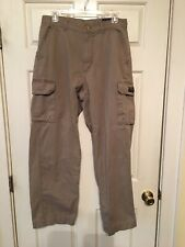 Mens 32/32 Nautica Cargo Pants Army Green