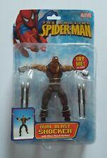 Marvel Leyendas Spiderman Classics Shocker Toybiz Figura