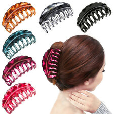 Women Hair Plastic Claws Clamp Clips Hairpin Banana Grips Slides Accessories New