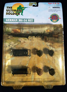 21st Century Toys The Ultimate Soldier German MG-34 Set ©2000