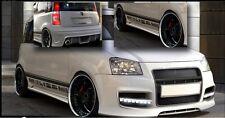 Kit Estetico Tuning Completo FIAT PANDA 2003-2012 (2 Paraurti + 2 Minigonne)