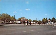 Deming New Mexico~Martins Trailer Park~Airstream~Motor Homes~1977 Postcard