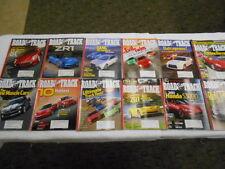 ROAD & TRACK 12 Issues 2008 Alfa Romeo 8C Corvette ZR1 Lamborghini Porsche BMW