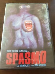 Spasmo (1974) DVD Italian Horror NEW Umberto Lenzi Ennio Morricone Scorpion
