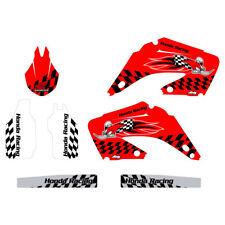 Honda CR125 CR250 2002-2012 Woody graphics kit red highlight FREE SHIPPING!!!