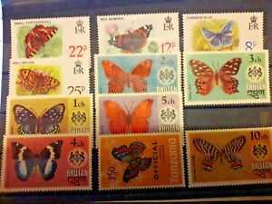 Butterflies Selection  Mint Never Hinged Very Fine Stamps RF/5212 MNH