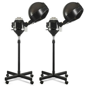 New Hair Steamer Rolling Stand Color Beauty Salon Spa Equipment Professional