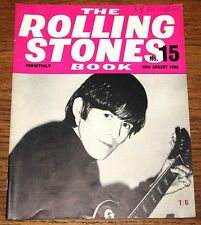 THE ROLLING STONES BOOK MONTHLY NUMBER 15 10TH AUGUST 1965 VINTAGE MAGAZINE