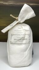 Restoration Hardware Vintage-Washed Belgian Linen Standard Sham White NEW $119