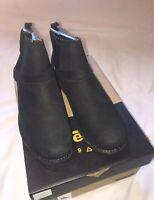 Teva Womens Delavina Dos chelsea Premium Leather Boots Black UK 8 41 EU