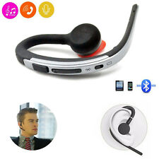 Wireless Bluetooth Headset HD Stereo Headphone Music Earpiece for iPhone HTC LG