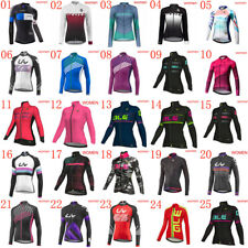 New women cycling jersey 2019 Pro team bike long sleeve shirt bicycle sportswear