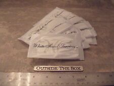 "Emergency/Survival:  (10) Disposable Wet Towel Packets, 8"" x 10"" -  Lemon Scent"