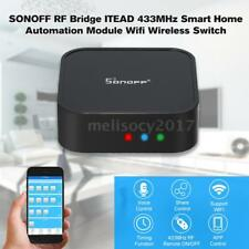 Sonoff RF Bridge WiFi 433 MHz Replacement Smart Switch RF Remote Controller S8A7