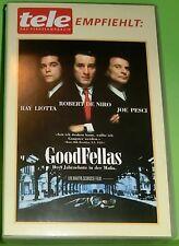 GoodFellas - Drei Jahrzehnte in der Mafia (VHS Kassette) Ray Liotta, Joe Pesci