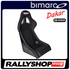 BIMARCO Seat DAKAR FIA Racing Black WITH HOMOLOGATION RALLY CHEAP FAST DELIVERY