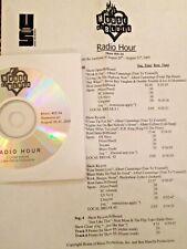 RADIO SHOW: HOUSE OF BLUES 8/20/05 ALBERT CUMMINGS 6 SONG TRIBUTE; B.B.KING