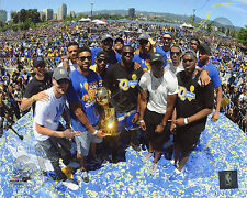 Golden State Warriors 2017 NBA Champions Victory Parade 8x10 Photo