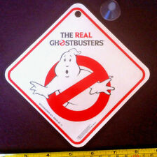 The Real Ghostbusters Car Sign 1984 Baby on Board & Sucker