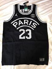 5cdc991ccc1b Jordan X Paris Saint-Germain PSG Knit Basketball Jersey Size- Medium