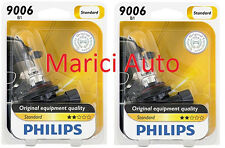 2x PHILIPS 9006 B1 Light Bulb Halogen Beam 55W OEM Headlight Headlamp Pair