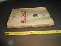 libro: AL DI LA' - ALFREDO ORIANI - A.BARION - 1925
