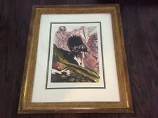 "Salvador Dali's ""Biblical Illustration"" lithograph, 1960, signed by Dali"