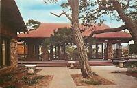 Pacific Grove California~Seascape Dining Room~1950s Postcard