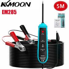 5m EM285 Power Probe Car Electric Circuit Tester Automotive Tester 6-24V US D9C8