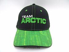 Team Arctic Cat Race Black & Green Adjustable Baseball Hat Cap 5263-135