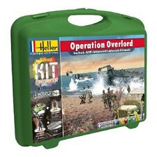 Heller 1/72 Truck & LCVP & 50 Figures Diorama Model Kit Operation OverLord