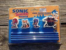 Sonic The Hedgehog Collectors Edition Pencil Top Erasers