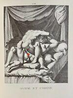 Agostino Carracci Erotik Penis Akt Vagina Ovid Corine Antike Mythologie Love