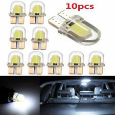 10X T10 194 168 LED Light Bulbs W5W CANBUS Silica Bright White License Lamp GL