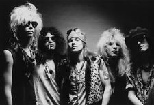 """Guns N Roses Poster 13x19"""" Black And White"""