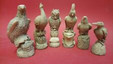 BRITISH BIRDES CHESS SET MOULDS  ONLY £29.99 FREE POST