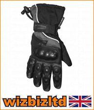 Gants noirs textiles Bike It pour motocyclette