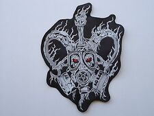 ARCHGOAT GOAT MASK DEATH BLACK METAL EMBROIDERED BACK PATCH