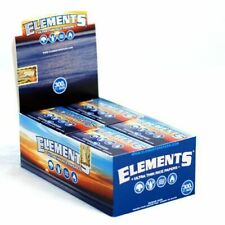 Elements 300 Rolling Paper - 10 PACKS - Natural Ultra Thin Rice 1.25 1 1/4