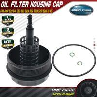 Oil Filter Housing Cover for BMW E39 E46 E53 E83 323i 325i 330i 525i 528i X3 X5