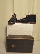 chaussures By HUDSON  vasa suède bleu 44