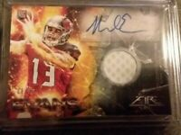 2014 Mike Evans 17 Card Rookie Lot! Fire Patch Auto/50, Topps, Contenders,& More