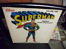 SUPERMAN Radio Broadcast Volume 1 LP 1974 Mark 56 Records VG+