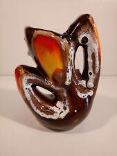 VASO VINTAGE VALLAURIS Ceramique LE DAUPHIN