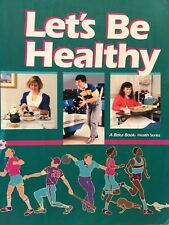 Let's Be Healthy Abeka Book health series