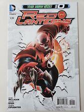 RED LANTERNS #0 (2012) DC 52 COMICS PETER MILLIGAN! GREEN LANTERNS! ATROCITUS NM
